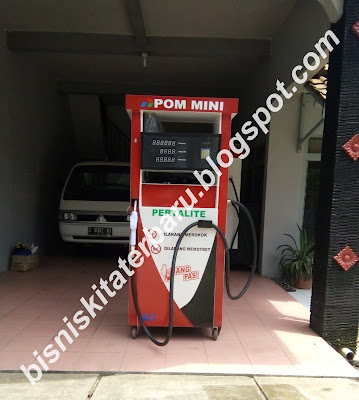 Mesin Pom Bensin Mini Manual dan Digital Elektrik Portable