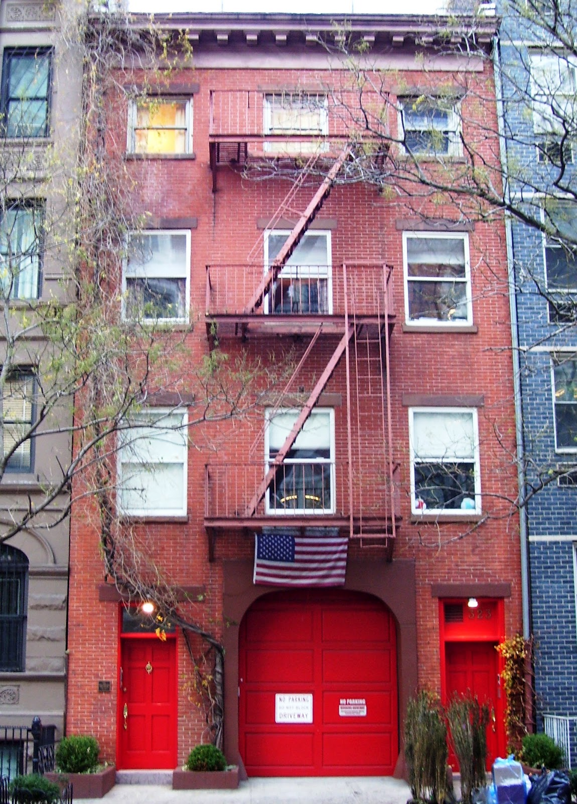 """Daytonian In Manhattan: The """"Chelsea Firehouse"""" -- No. 323"""