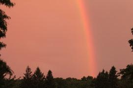 no storm, no rainbow