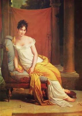 Madame Récamier by François Gérard, 1805