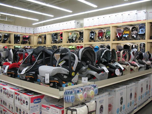 Endereços da Buy Buy Baby em Miami e Orlando