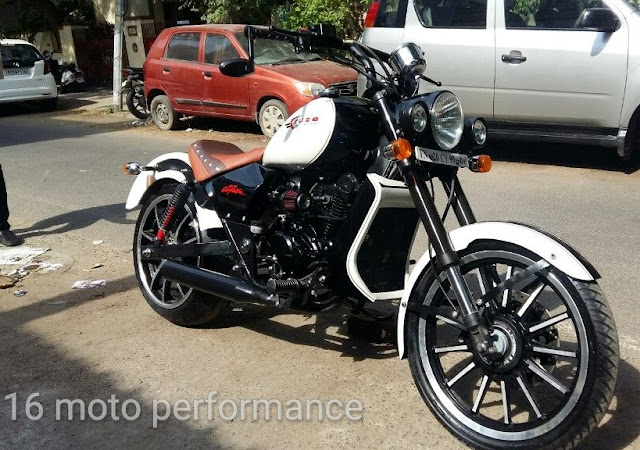 Bajaj Avenger Cruze by 16 Moto Performance
