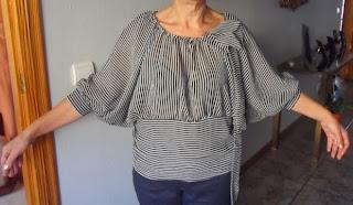 blusa fácil sin patrón