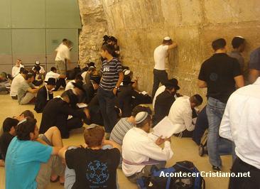 Judíos recuerdan la destrucción del Templo de Jerusalén
