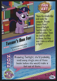 MLP Twilight's Book Fort Series 4 Trading Card