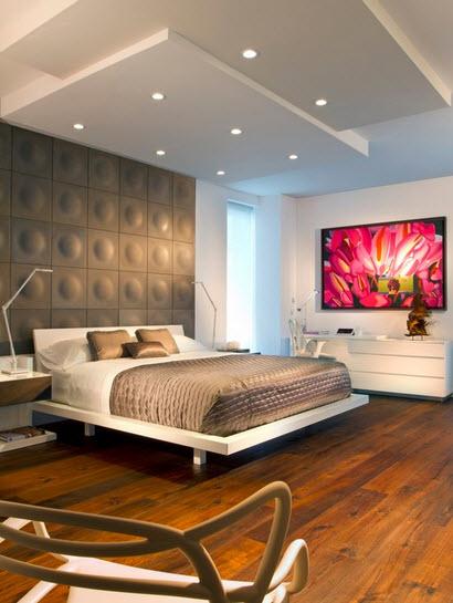 decoracin de interior de un dormitorio moderno