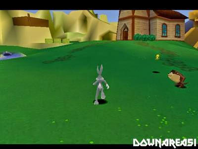 Bugs Bunny and Taz Time Buster PSX Game