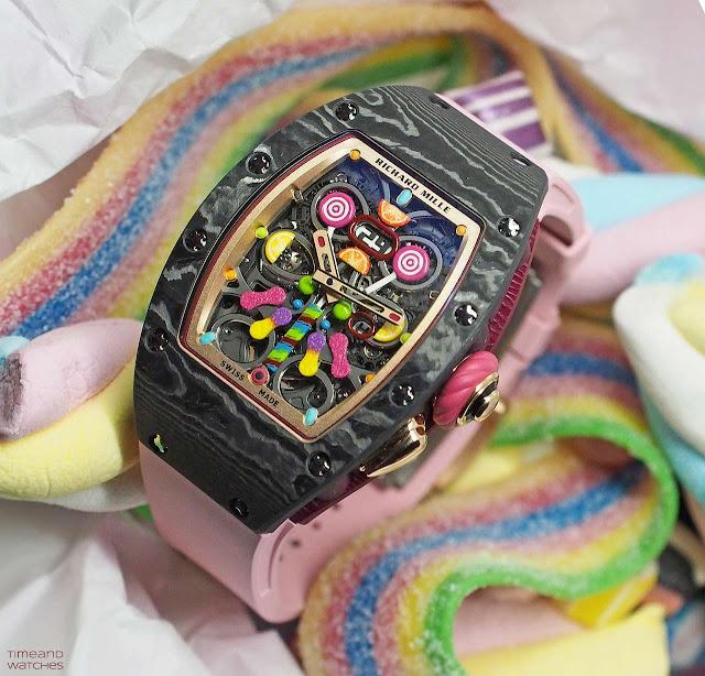 Richard Mille Bonbon Collection RM 37-01 Automatic Cerise