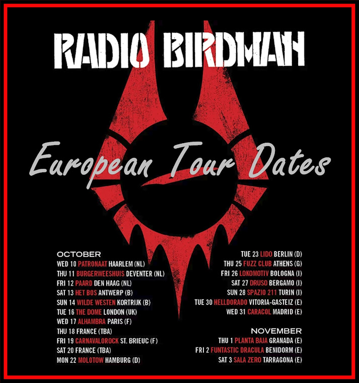 Radio Birdman - European Tour 2018