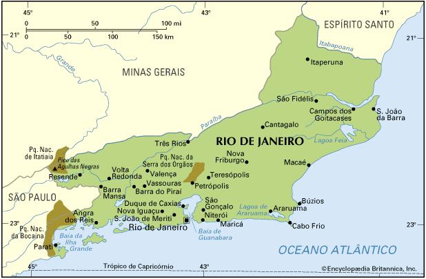 RIO DE JANEIRO - HISTÓRIA, GEOGRAFIA E SOCIEDADE DO ESTADO DO RIO DE JANEIRO