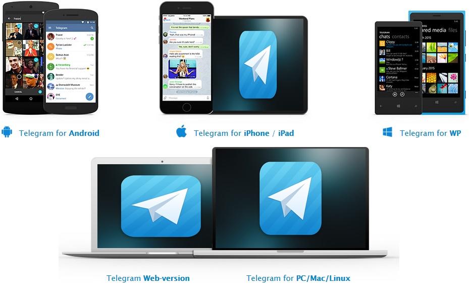 تحميل برنامج تيليجرام للهواتف احدث اصدار