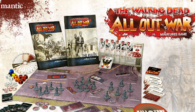 "Mantic Games ""The Walking Dead"" Miniatures Game; First Impressions"