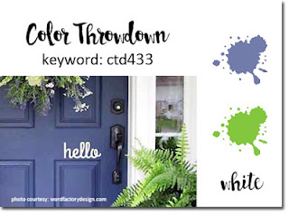 Color Throw Down Challenge