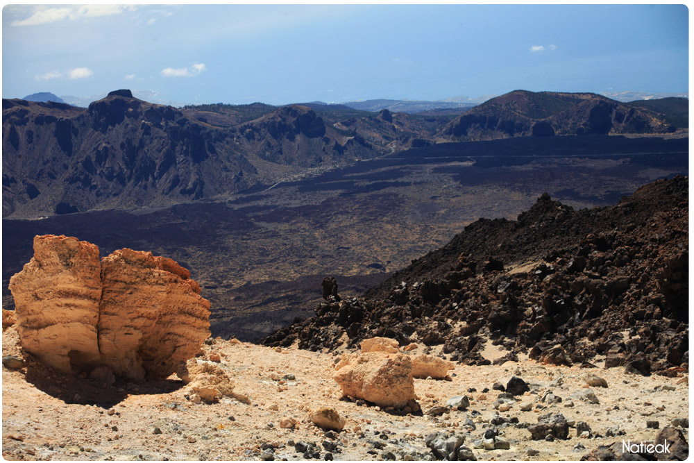 Vue du pic de Teide Tenerife Canaries