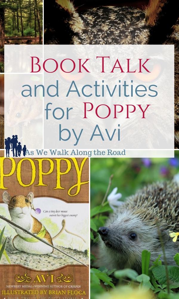 Poppy by Avi literature unit activities