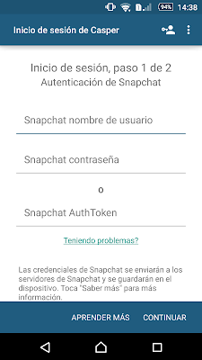 Free Download Casper for Snpachat APK