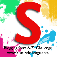 S is for Scarlet #AtoZChallenge