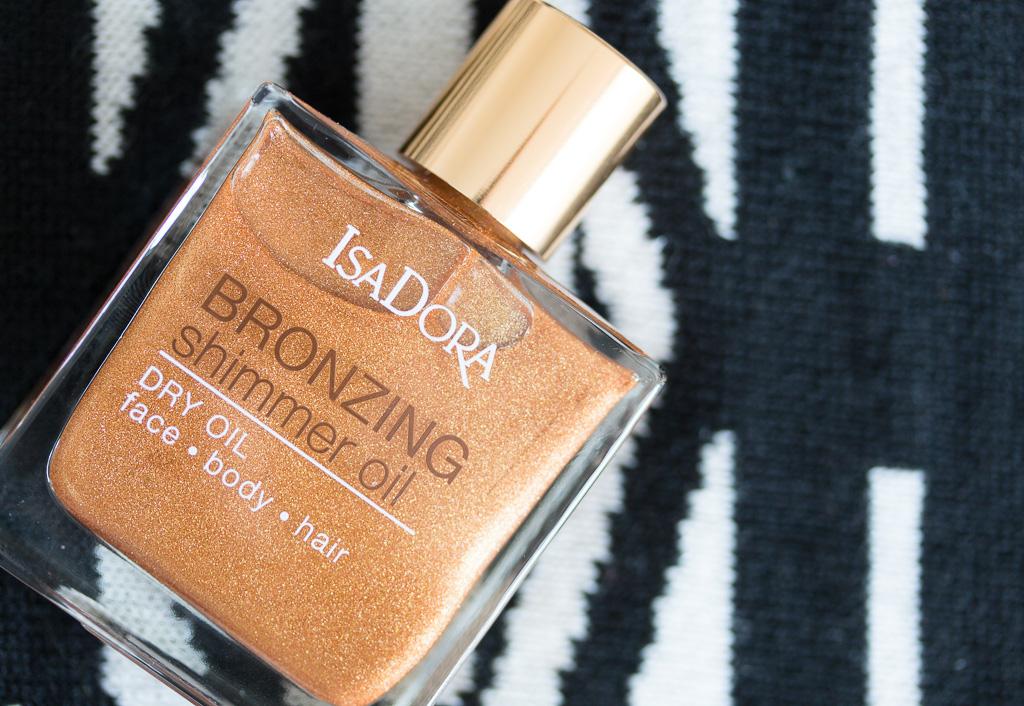Isadora Bronzing Shimmer Oil