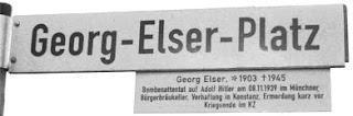 Georg Elser Platz
