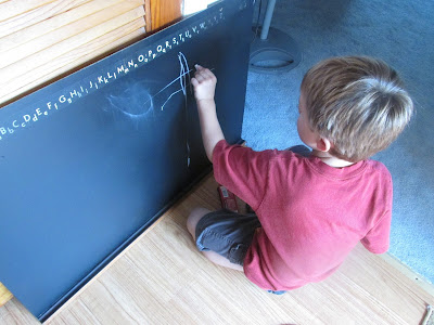 Makeover of Childhood Chalkboard