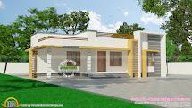 120 Sq- Small Budget Kerala Home - Design And