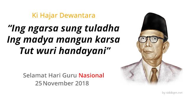 Hari Guru Nasional 25 November 2018