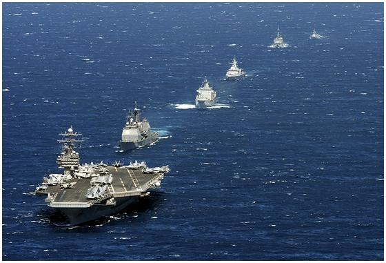 Resultado de imagen de Grupos de ataque de portaavione