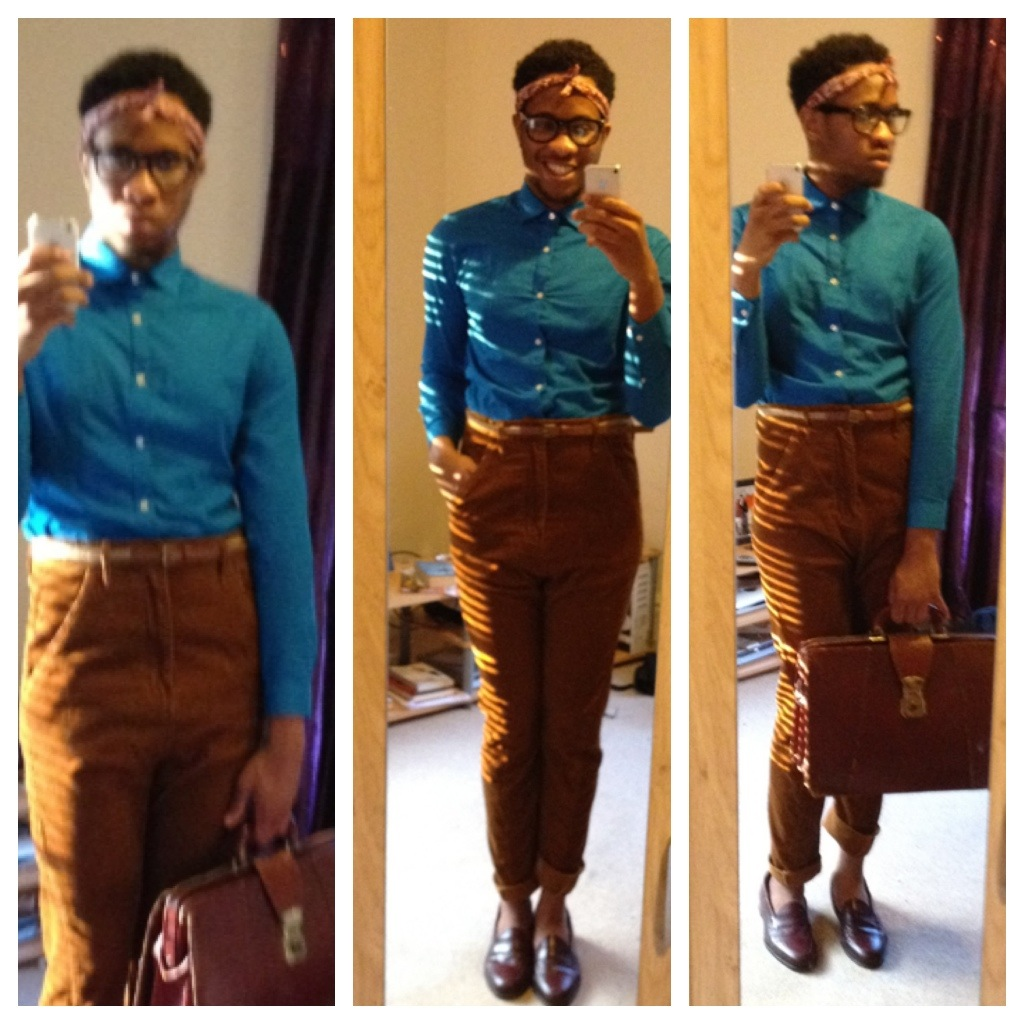The Essence Of Style By Lanre Aluko Male High Waisted Trousers