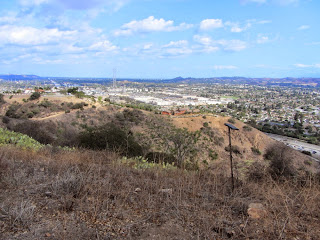 View southeast from Summit 1212, South Hills Wilderness Park, Glendora