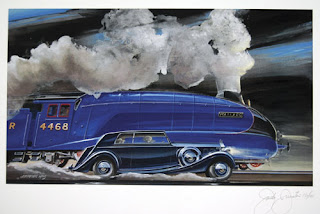PIII and the Mallard giclee print by Jack Juratovic