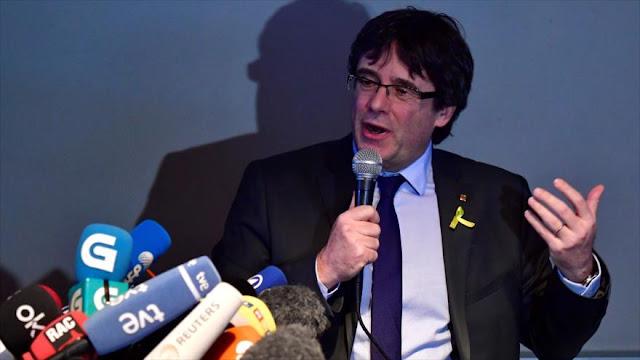 Puigdemont dice haber derrotado la principal mentira del Estado