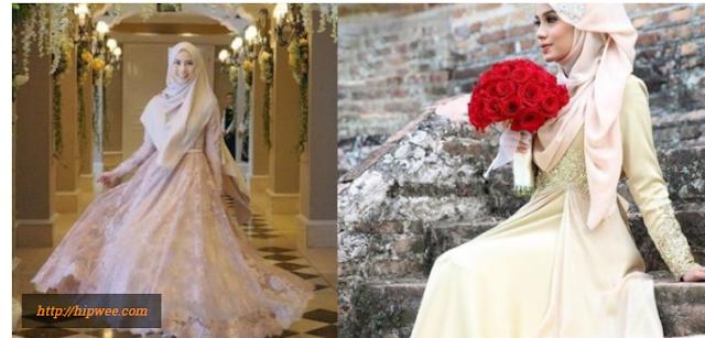 Contoh Busana Hijab Lamaran Terbaru yang Simple Sopan Menutup Dada dan Modren