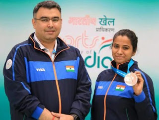 Spotlight: Gagan Narang And Pooja Ghatkar Won Silver