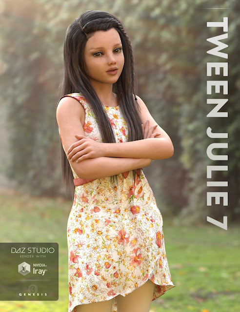 Tween Julie 7 Starter Bundle