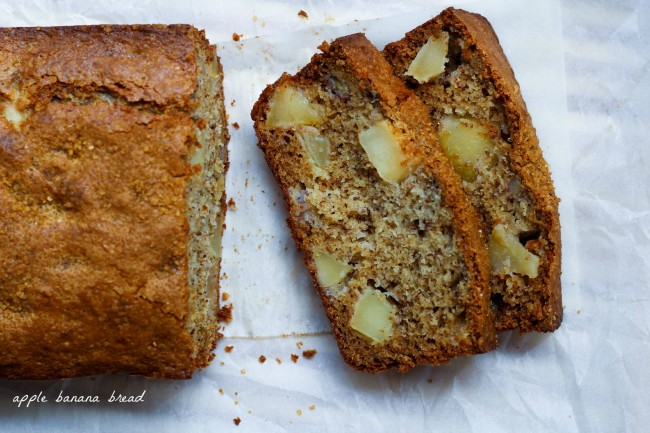 Apple Banana Bread