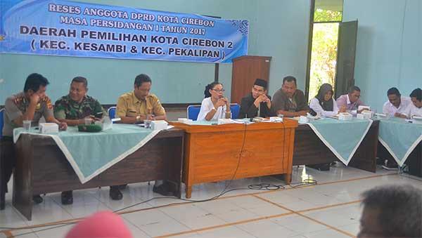 anggota dprd kota cirebon reses masa persidangan ketiga