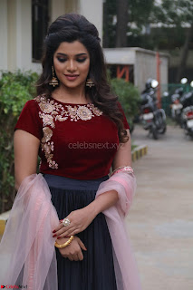 Actress Aathmika in lovely Maraoon Choli ¬  Exclusive Celebrities galleries 017.jpg