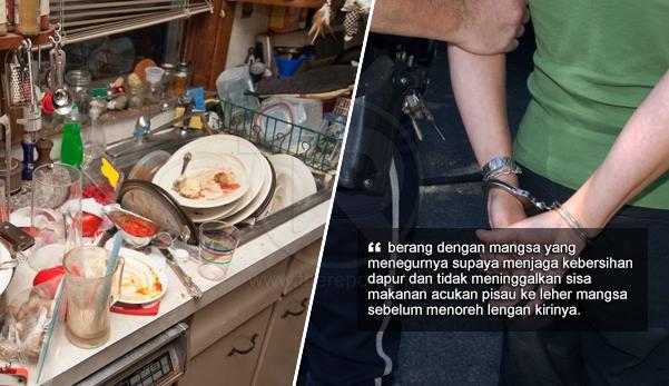 Toreh Lengan Rakan Serumah Kerana Berang Ditegur Tak Jaga Kebersihan Dapur The Reporter