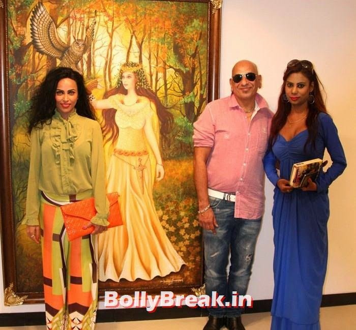 Shifanjali Rao, Salim Asgarally, Rinke Ali Khan, Tia Bajpai, Richa Sony Pics from Exhibition