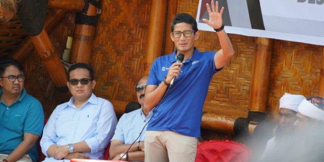 Sentil Jokowi, Sandiaga Sebut Ahok Lebih Gentle karena Cuti Kampanye