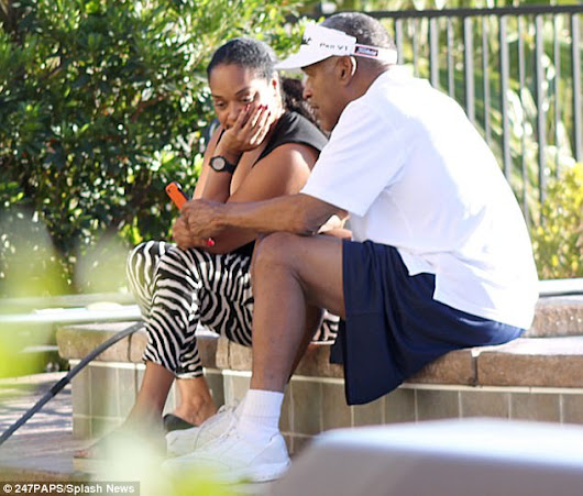 Pics: OJ Simpson Is Photo'd Out Enjoying his Freedom With His Daughter
