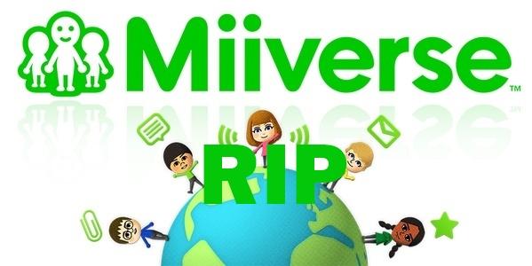 RIP Miiverse Nintendo - Serhamo.net