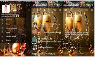 BBM Mod New Year Special Tahun Baru 2017 v3.2.0.6 Clone Unclone
