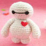 patron gratis bay max big hero amigurumi | free amiguru pattern bay max big hero