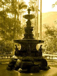 O Belo Chafariz das Musas no Jardim Botânico do Rio de Janeiro