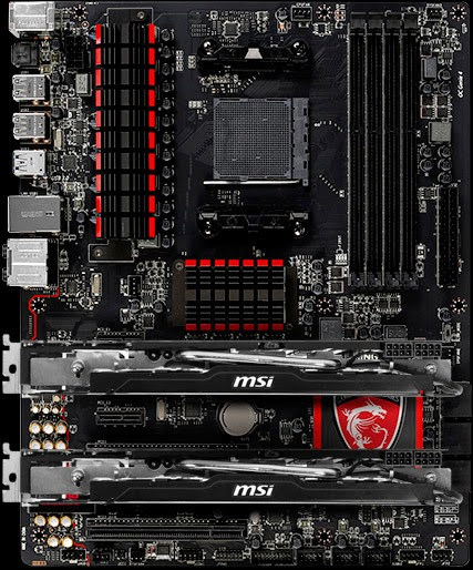 Spesifikasi Motherboard Gaming MSI 970