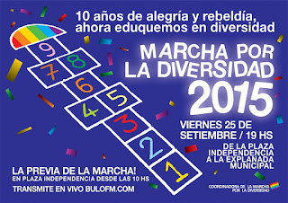 Marcha de la Diversidad. 2015