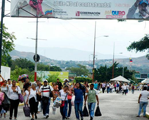 Colombia pide a venezolanos no intentar cruzar la frontera