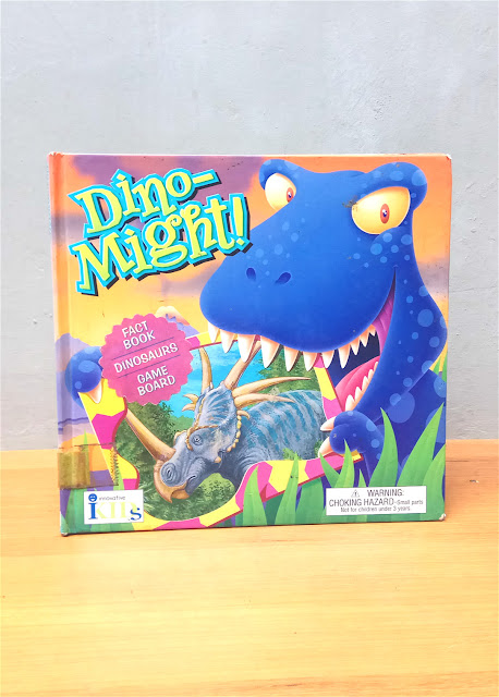 DINO MIGHT!,  Michael Burgan