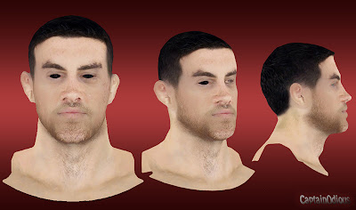 NBA 2K13 Nick Collison Cyberface Mod
